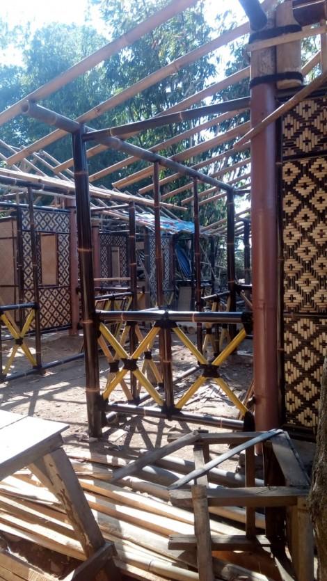 Jual Jasa Pembuatan Gazebo Bambu di Jogja 085727624224